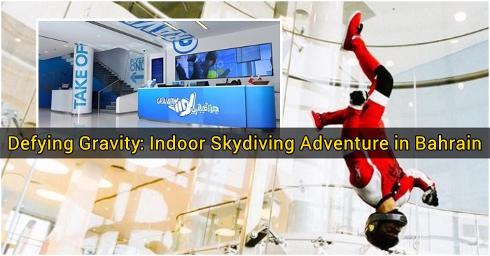 Defying Gravity - Indoor Skydiving Adventure in Bahrain - Featured Image