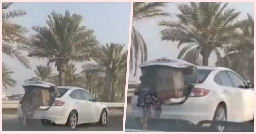 [TRENDING] Bahrain Housemaid Placed in Car Trunk by Employer to Prevent Package from Falling